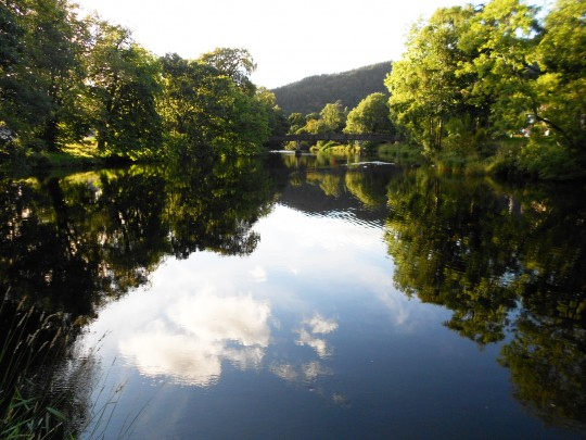River Teith. Callander. Highlands, Scotland.
